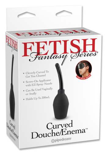 FETISH FANTASY CURVED DOUCHE ENEMA   PD392123   [category_name]