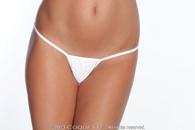 G STRING WHITE O/S | CQ100WH | [category_name]