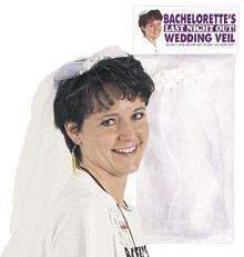 BACHELORETTE WEDDING VEIL