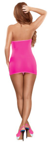 MESH TUBE DRESS & G-STRING PINK O/S (NEON ACCESSORY) | MS200PINK | [category_name]