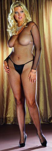 BODY STOCKING BLACK OS QUEEN INAMSTERDAMIN | DG0015XBK | [category_name]