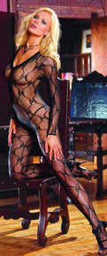 BODY STOCKING BLACK OS INBORDEAUXIN