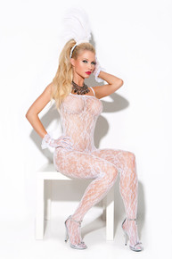 VIVACE BODY STOCKING WHITE O/S | ELM8596 | [category_name]