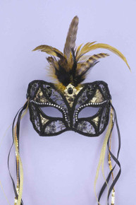 MASK BLACK /GOLD LACE | FN61017 | [category_name]