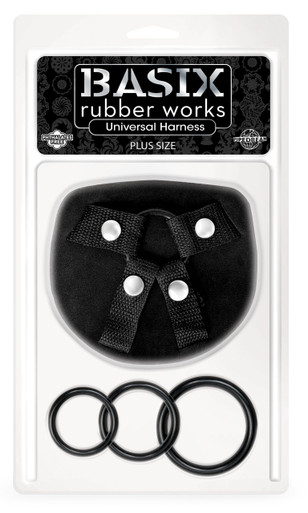 BASIX RUBBER WORKS UNIVERSAL HARNESS PLUS SIZE | PD432002 | [category_name]
