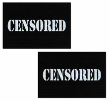 PASTEASE BLACK CENSOR BARS