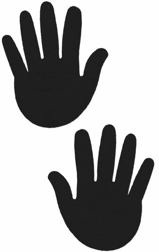 PASTEASE HANDS BLACK | PASHNDBK5 | [category_name]