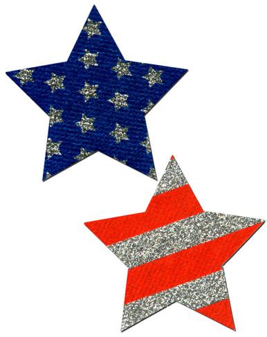 PASTEASE ROCKSTAR STARS & STRIPES | PASSTRGLTPAT5 | [category_name]