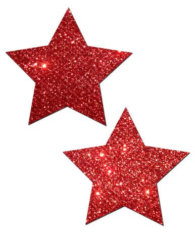 PASTEASE ROCKSTAR RED GLITTER | PASSTRGLTRD5 | [category_name]