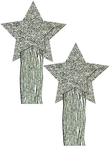 PASTEASE STAR TASSEL SILVER | PASSTRTASGLTSL5 | [category_name]
