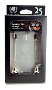 ADJUSTABLE TWEEZER CLAMP W/NICKEL BELL | SPF110 | [category_name]
