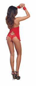 BABYDOLL W/PANTY RED