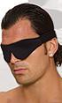 POLYESTER BLINDFOLD BLACK | ELLF1325 | [category_name]