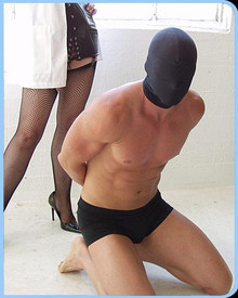 SPANDEX HOOD W/ BUILT IN BLINDFOLD | KL567 | [category_name]