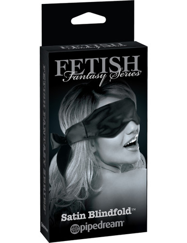 FETISH FANTASY LIMITED EDITION SATIN BLINDFOLD BLACK | PD445323 | [category_name]