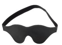 FUR BLINDFOLD BLACK | SPL08M13B | [category_name]