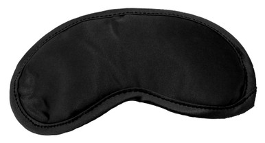 SEX & MISCHIEF SATIN BLACK BLINDFOLD | SS10001 | [category_name]