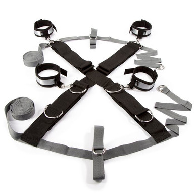 OVER THE BED CROSS RESTRAINT SILVER (NET)   FS57757   [category_name]