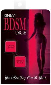 KINKY BDSM DICE   KHEBGR176   [category_name]