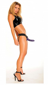 FETISH FANTASY HOLLOW STRAP ON FOR HIM OR HER PURPLE   PD336612   [category_name]