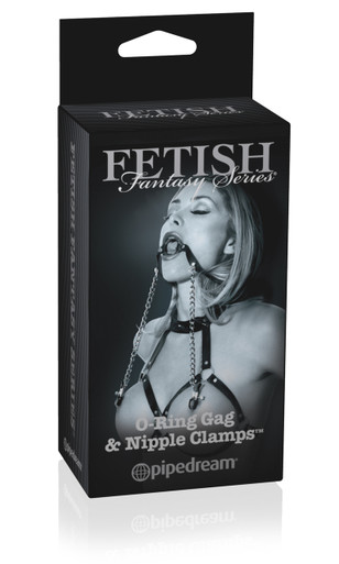 FETISH FANTASY LIMITED EDITION O RING BALL GAG & NIPPL   PD441923   [category_name]