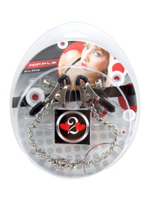 H2H NIPPLE CLAMPS PLIER W/CHAIN CHROME | PY1001C | [category_name]