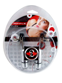 H2H NIPPLE CLAMPS ALLIGATOR W BULLET CHROME | PY1013C | [category_name]