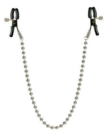 NIPPLE CLAMPS SILVER BEADED | SE261010 | [category_name]