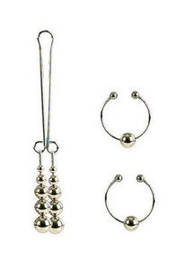 NIPPLE/CLIT NON PIERCING SILVER   SE261020   [category_name]