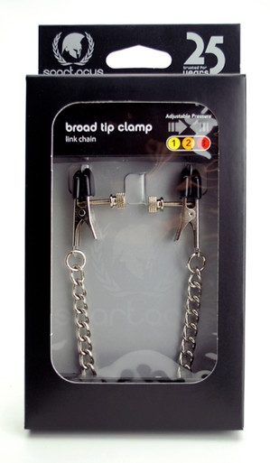 BROAD TIP CLAMP W/ LINK CHAIN - ADJ.   SPF26   [category_name]