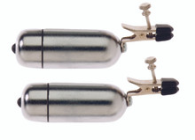 WIRELESS VIBRATING NIPPLE CLAMPS