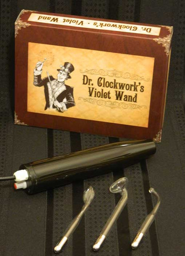 DR CLOCKWORK VIOLET WAND KIT PURPLE ELECTRODE(out 6-15   DCSSVWKITV   [category_name]