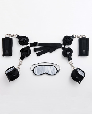 FIFTY SHADES BED RESTRAINT KIT (NET) | FS40185 | [category_name]