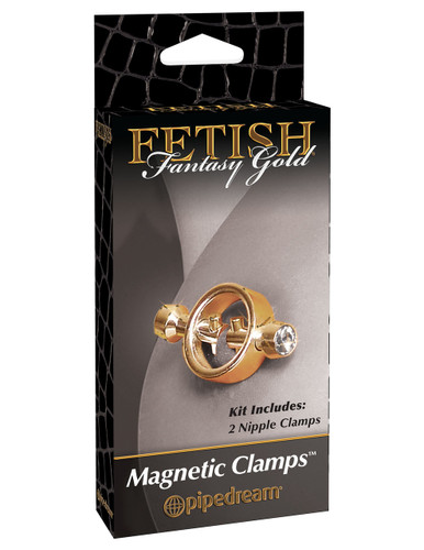 FETISH FANTASY GOLD MAGNETIC CLAMPS | PD398827 | [category_name]