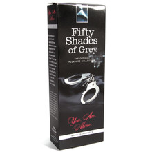 FIFTY SHADES METAL HANDCUFFS (NET)(out 6-15)   FS40176   [category_name]