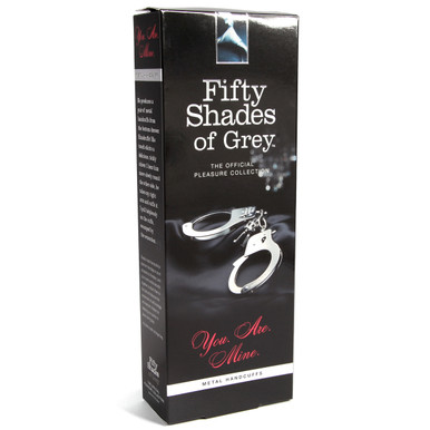 FIFTY SHADES METAL HANDCUFFS (NET)(out 6-15) | FS40176 | [category_name]