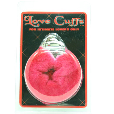 LOVE CUFFS PLUSH RED   GT20892   [category_name]
