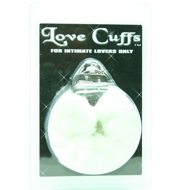 LOVE CUFFS PLUSH WHITE   GT20895   [category_name]
