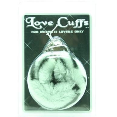 PLUSH LOVE CUFFS ZEBRA | GT20899CS | [category_name]