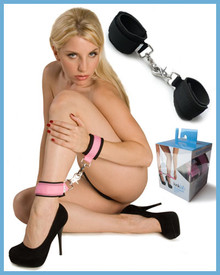 NEOPRENE PINK ON BLACK CUFFS | KL922 | [category_name]