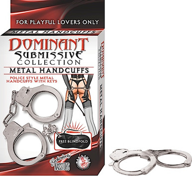 DOMINANT SUBMISSIVE METAL HANDCUFFS | NW22845 | [category_name]