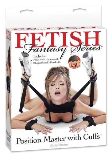 FETISH FANTASY POSITION MASTER W/CUFFS | PD215423 | [category_name]