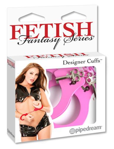 FETISH FANTASY DESIGNER PINK METAL HANDCUFFS | PD380111 | [category_name]