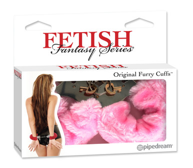 FETISH FANTASY ORIGIANL FURRY HANDCUFFS-PINK | PD380411 | [category_name]