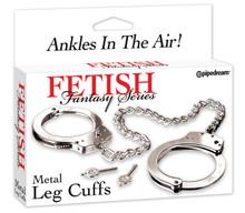 FETISH FANTASY METAL LEG CUFFS | PD380700 | [category_name]