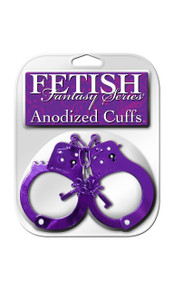 FETISH FANTASY ANODIZED CUFFS PURPLE | PD381612 | [category_name]