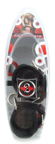 H2H RESTRAINT WRIST LEATHER W/RED HEARTS | PY313H | [category_name]