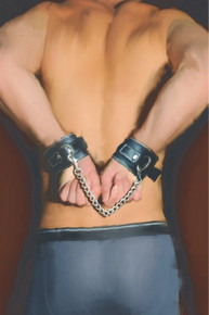 EDGE LEATHER WRIST RESTRAINTS BU