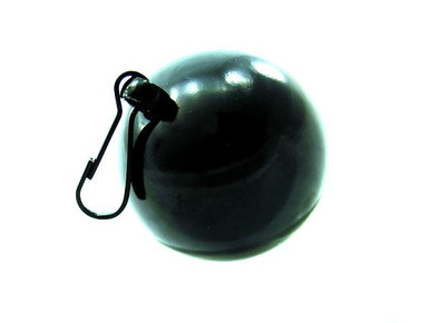 H2H WEIGHT BALL W/CLIP 8 OZ BLACK | PY1103B | [category_name]