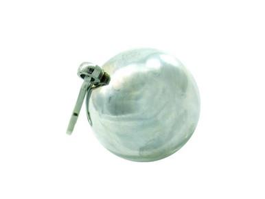 H2H WEIGHT BALL W/CLIP 8 OZ CHROME   PY1103C   [category_name]